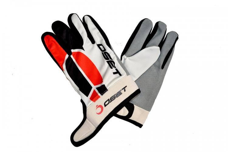 OSET branded Pro 2 Riding Gloves in Black